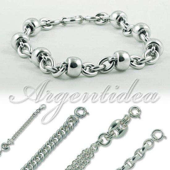 catenina argento 925  Collane in argento, produzione e vendita. Catena vuota a mano.